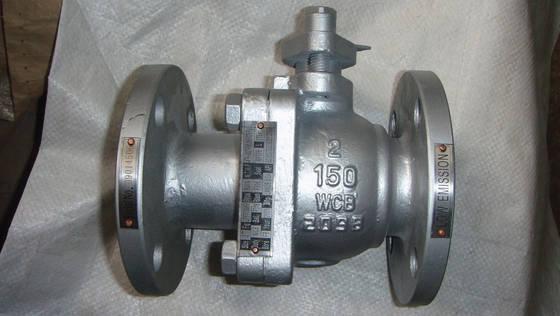 شیر توپی فولادی فلنجدار کلاس 150