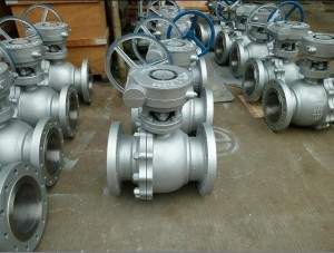 شیر توپی فولادی فلنجدار کلاس ۱۵۰