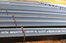لوله کربن استیل A106