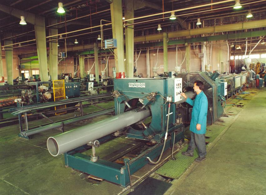 دستگاه تولید لوله پلیکا
